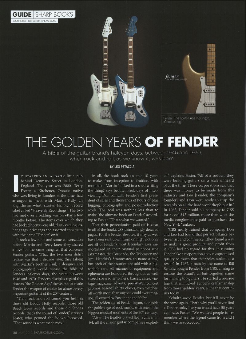 Fender - Sharp Magazine